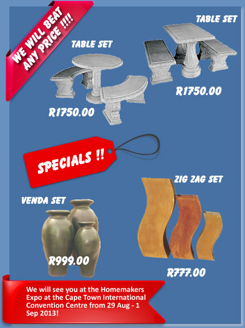 GC Concrete Grand Opening Sale in Kraaifontein