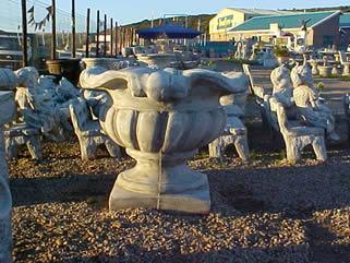 GC Concrete :: Manufacturers of Concrete Pillars and Garden
